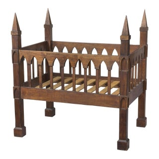 Black Walnut Gothic Crib