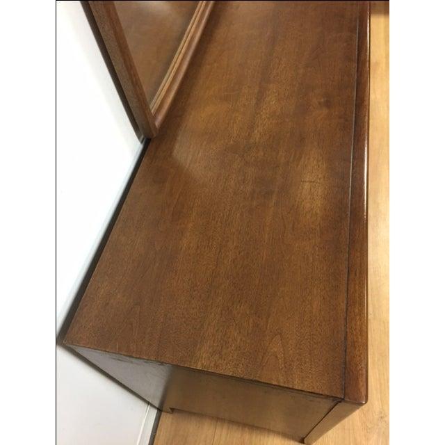 Broyhill Emphasis Mid-Century Dresser & Mirror - Image 5 of 9