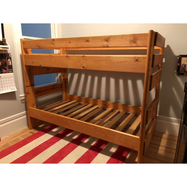 Solid Pine Bunkbed - Image 2 of 5