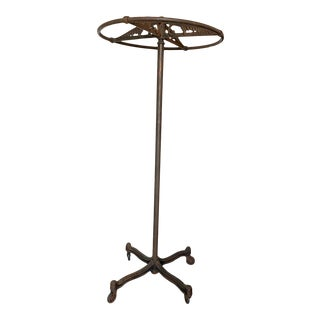 Antique French Garment Rack or Rounder For Sale