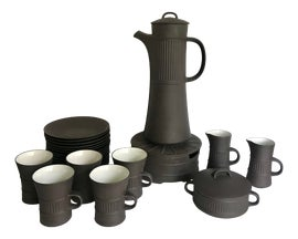 Image of Danish Modern Coffee and Tea Service