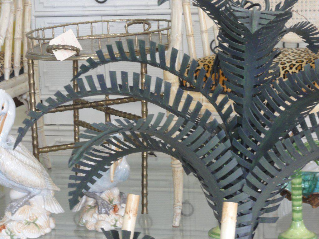 Curry Amp Co Palm Tree Chandelier Chairish