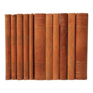 Danish Leather-Bound Books S/11