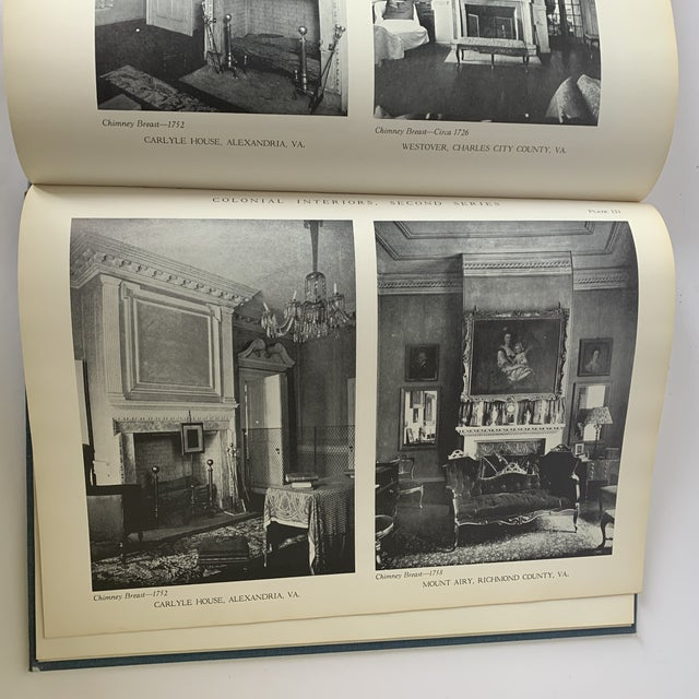 1930s Colonial Interiors Hardcover Book For Sale - Image 5 of 13