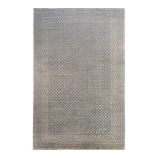 Contemporary Gray Khanna Rug For Sale