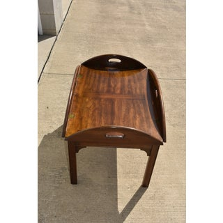 20th Century Chippendale Style Pennsylvania House Cherry Butler's Table/Coffee Table Preview