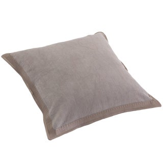 Contemporary Grey Global Views Decorative Pillow For Sale