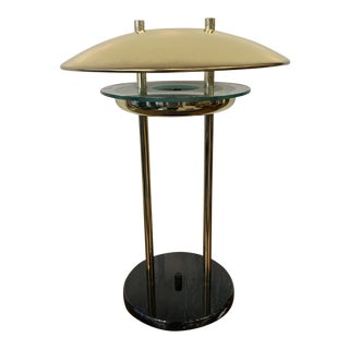 1980s Brass Table Lamp For Sale
