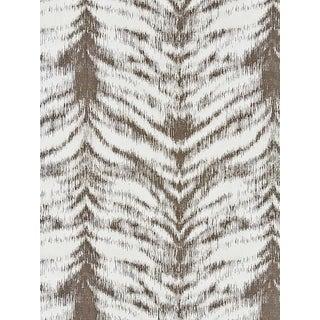 Sample, Scalamandre Safari Weave, Charcoal Fabric For Sale