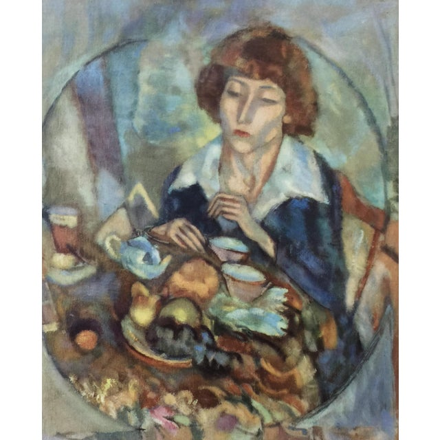 1954 Portfolio of 25 Color Stone Lithograph Prints by Jules Pascin For Sale In Detroit - Image 6 of 13