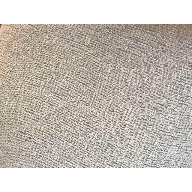 Pale Blue Cotton Pillows - a Pair - Image 5 of 5