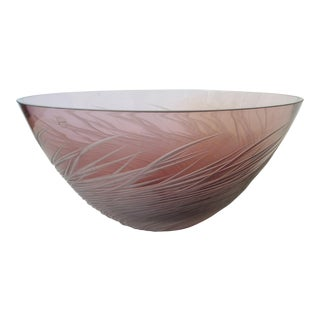 Salviati Amethyst Fruit Bowl For Sale