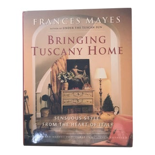 """Bringing Tuscany Home"" Hardcover Book"