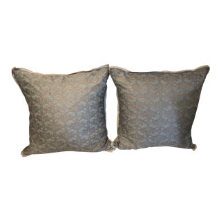 Fortuny Traditional Pillows - A Pair For Sale