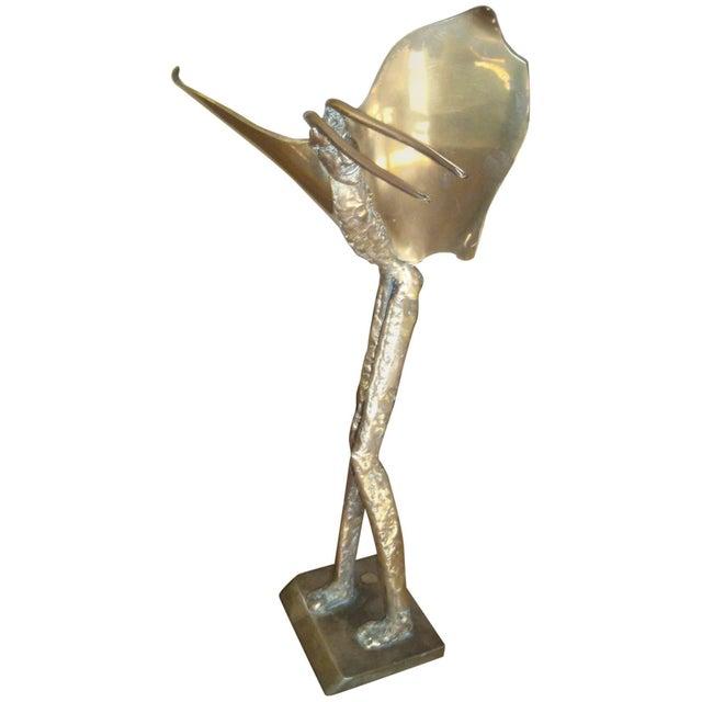 1980s 1980s Vintage McLean Bronze Fantasy Sculpture For Sale - Image 5 of 5