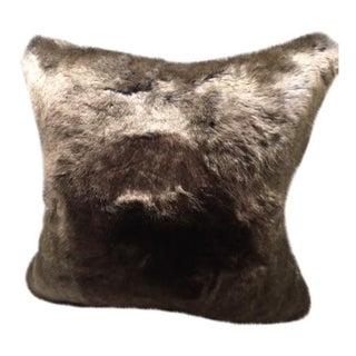 Cougar Faux Fur Pillow