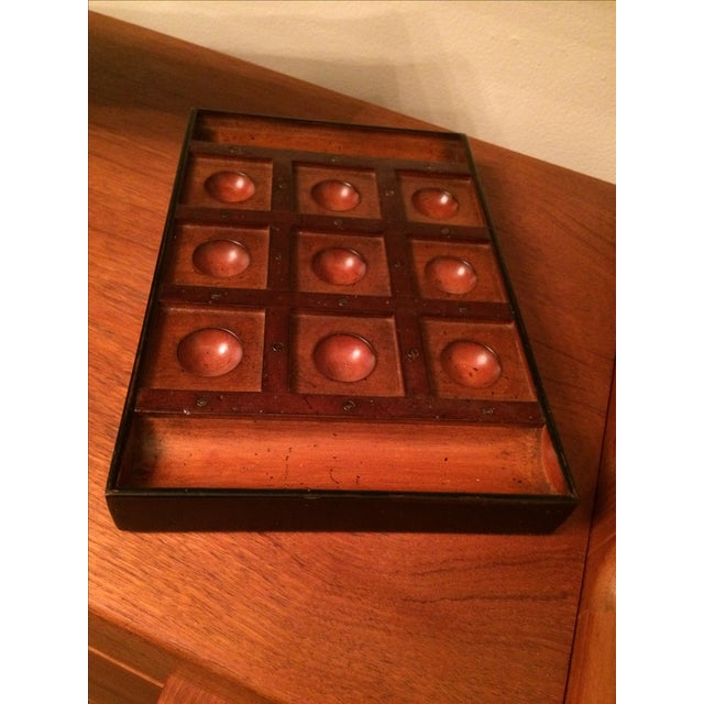 Authentic Model Venetian Tic Tac Toe Board - Image 2 of 6