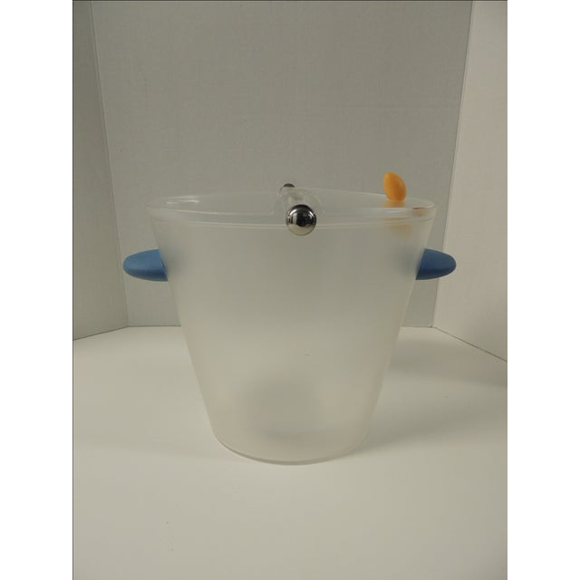 Michael Graves Frosted Lucite Ice Bucket - Image 2 of 5