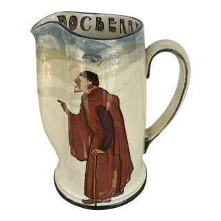 1910s Royal Doulton Doc Berry's Watch Pitcher For Sale
