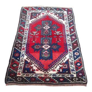 Vintage Anatolian Area Rug - 2′6″ × 3′10″