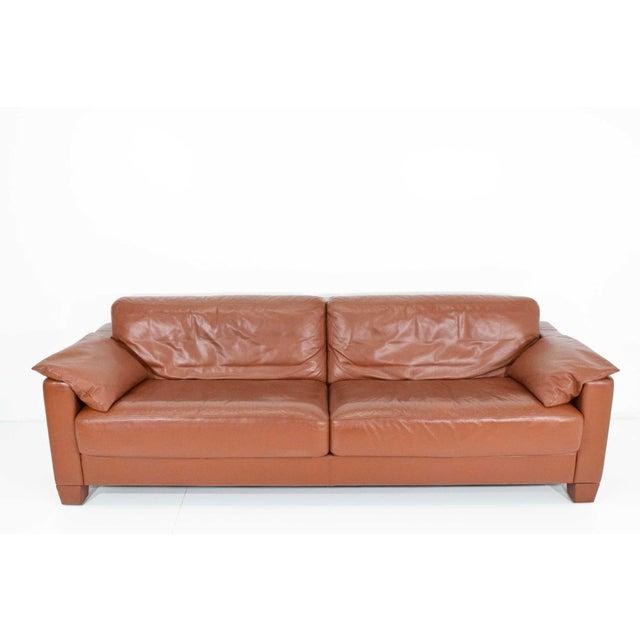 Contemporary 1990s Vintage De Sede Leather Sofa For Sale - Image 3 of 11