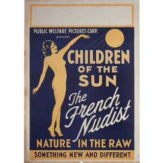 Children of the Sun 1934 U.S. One Sheet Film Poster For Sale
