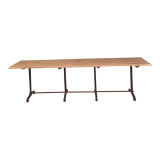 Ralph Lauren French Bistro Cooks Dining Table For Sale
