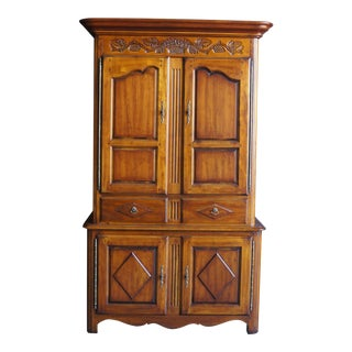 20th Century French Country Armoire For Sale