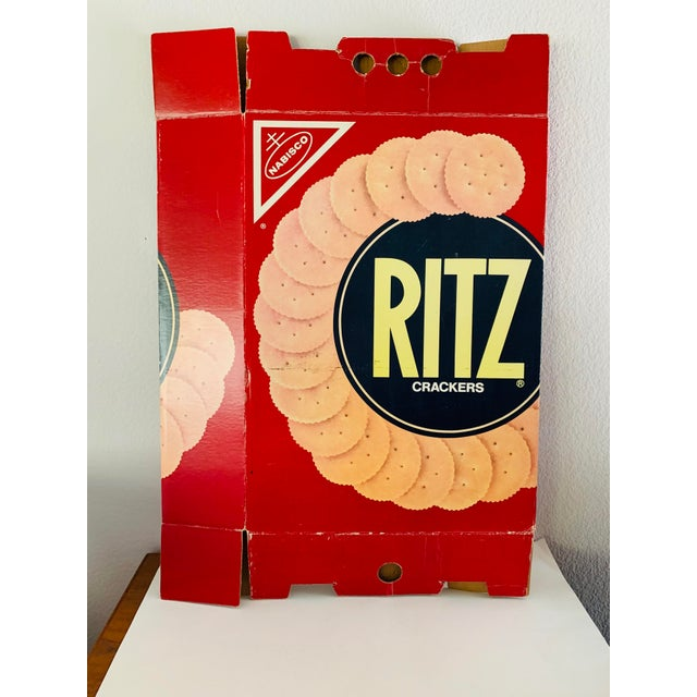 Iconic RITZ Crackers Box. Excellent for a store display, kids room, kitchen bar or restaurant or simply as a piece of...
