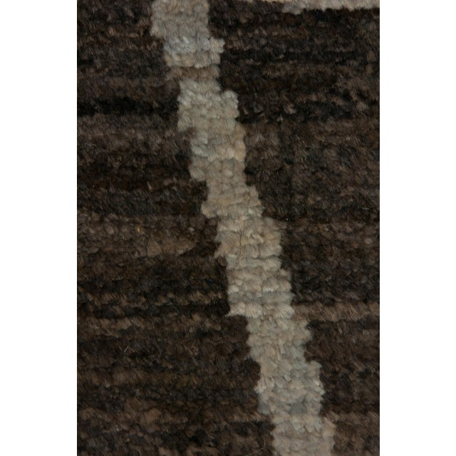 """Moroccan Hand-Knotted Rug - 4' 10"""" X 8' 0"""" - Image 3 of 3"""