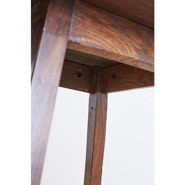 Oak English Oak Tavern or Pub Table For Sale - Image 7 of 13