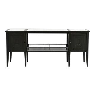 Ebony & Ivory Black Console Table