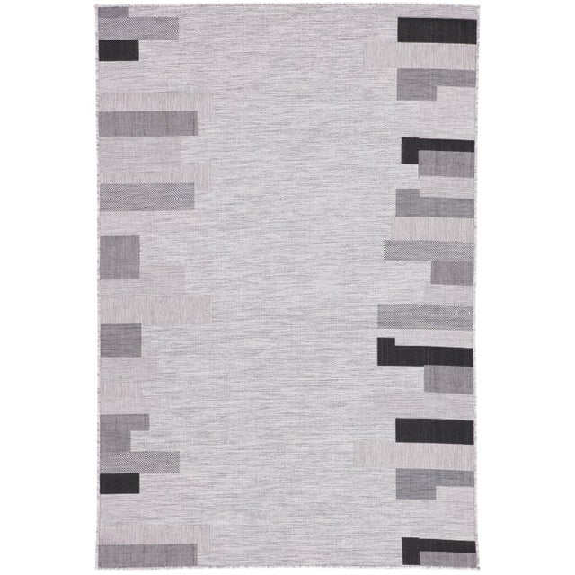 Nikki Chu by Jaipur Living Nikea Indoor/ Outdoor Geometric Area Rug - 7′11″ × 10′ For Sale In Atlanta - Image 6 of 6