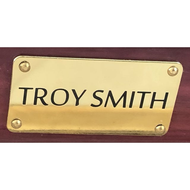 Troy Smith Designs Flip Bench by Artist Troy Smith - Contemporary Design - Artist Proof - Custom Furniture For Sale - Image 4 of 4
