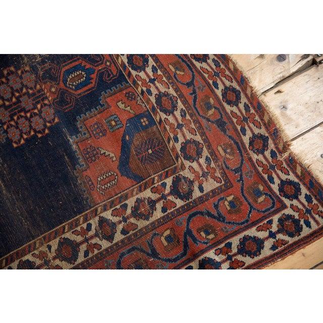 """Antique Fine Afshar Rug - 4'3"""" x 5'2"""" - Image 7 of 13"""