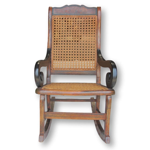 Antique Child's Rocking Chair - Image 2 of 8
