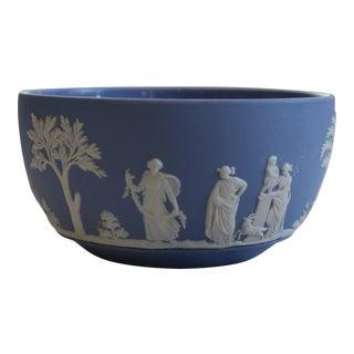Vintage Wedgwood Pale Blue Jasperware Bowl – 1956