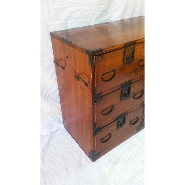 Korean Camphor Wood Cabinet - Image 3 of 11