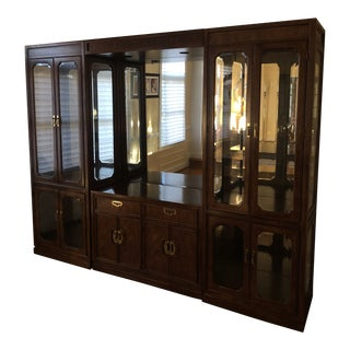 Thomasville Mystique Chinoiserie Display Cabinet For Sale