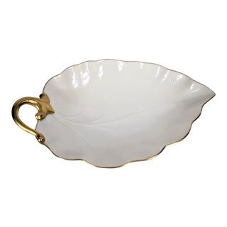 Vintage Lenox Leaf Dish For Sale