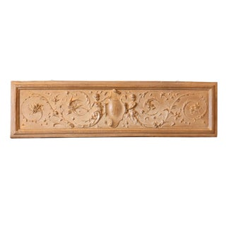 Italian Rococo Terracotta Frieze For Sale