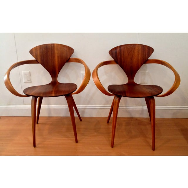 Norman Cherner Pretzel Chairs - A Pair - Image 2 of 7