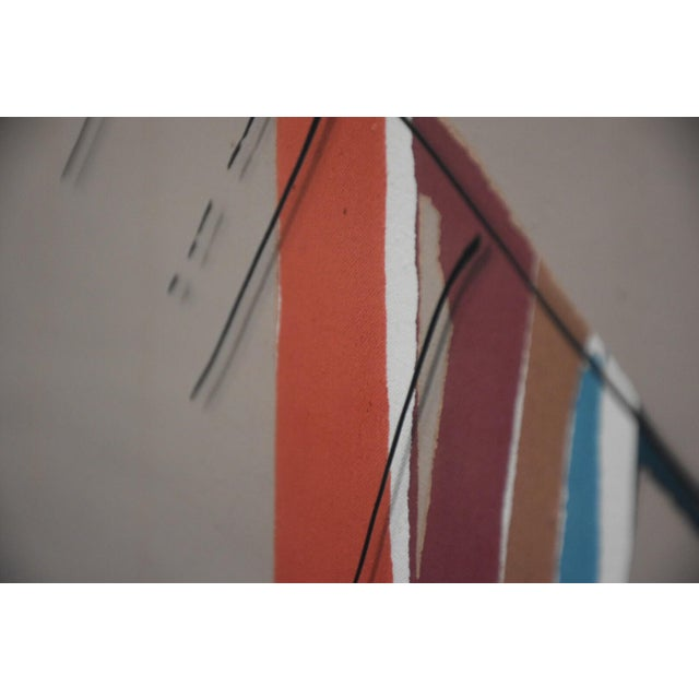 3D Sally Anderson Large Abstract Painting For Sale - Image 7 of 10