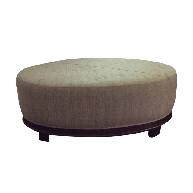 Baker by Barbara Barry Ottoman - Image 1 of 10