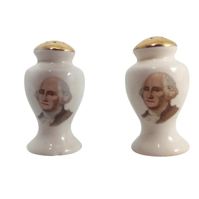 George Washington Salt & Pepper Shakers - Image 1 of 10