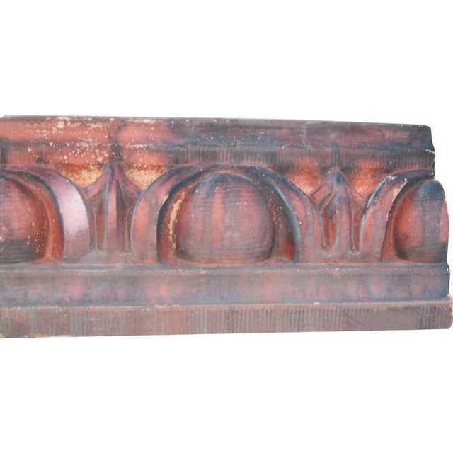 These terra cotta stones are from an early 1900s new york city building facade. They make beautiful garden or landscape...