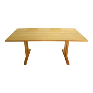 1990s Stickley Mission Oak Arts and Crafts Dining Table For Sale