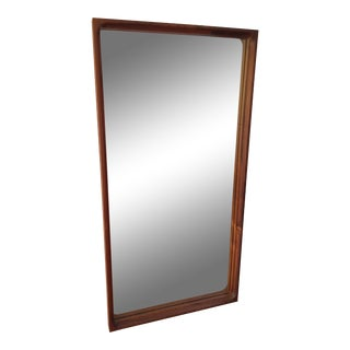 Mid-Century Glass Master Markaryd Rectangular Mirror For Sale