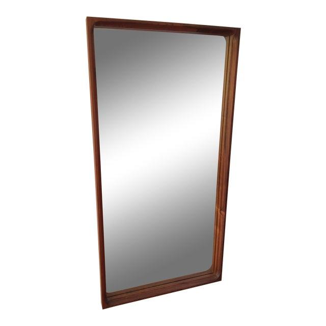Mid-Century Glass Master Markaryd Rectangular Mirror For Sale