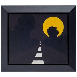 "Allan D'arcangelo ""moon"" 1963 For Sale"